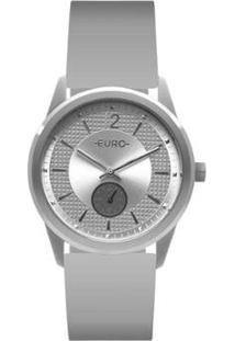Relógio Euro Multi Basic Eyes Feminino - Feminino-Cinza