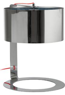 Abajur Metal Saint Cromada 38 X 50 Cm Bocal E27 Max 40W