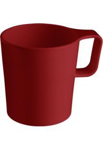 Caneca Empilhável Casual 12 X 8,3 X 11,5 Cm 250 Ml Vermelho Bold Coza