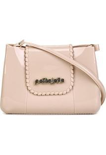 Bolsa Petite Jolie Mini Bag One Feminina - Feminino-Nude