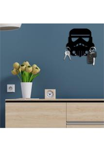 Porta Chaves Decorativo Em Mdf Stormtrooper Star Wars Único