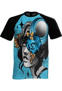 Camiseta Manga Curta Stompy Psicodelica 20 Preto
