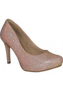 Sapato Via Marte - Feminino-Rose Gold