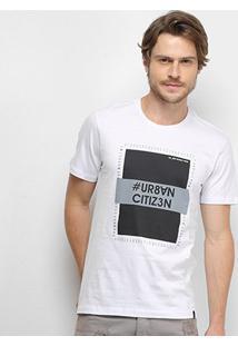 Camiseta All Free Urban Citizen Masculina - Masculino-Branco
