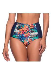 Calcinha Hot Pants Reduçáo De Medidas Noronha Floral Essencial La Playa 2019