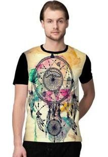 Camiseta Stompy Psicodelica28 Masculina - Masculino-Preto