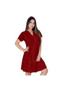 Robe Feminino All Store Harmonia Vinho