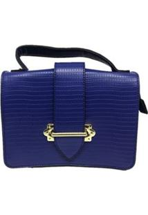 Bolsa Casual Sys Fashion 8536 Feminina - Feminino-Azul