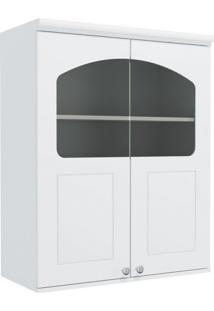 Armário De Cozinha Aéreo Kappesberg G626 2 Portas Com Vidro Branco
