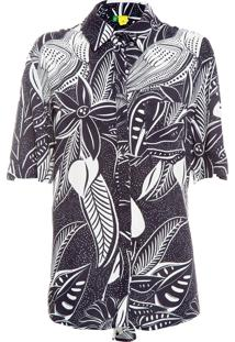 Camisa Feminina Samba De Tucano - Preto