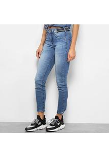 2bead2f87 ... Calça Jeans Skinny Colcci Cory Cintura Média Feminina - Feminino-Jeans