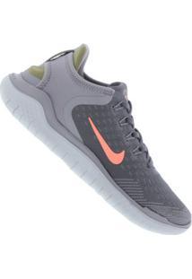612693d6eb ... Tênis Nike Free Rn 2018 - Feminino - Cinza Escuro