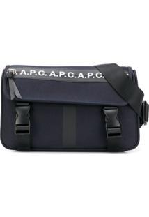 A.P.C. Pochete Com Logo - Azul