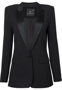 Blazer Smoking Ive (Preto, 34)