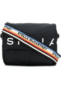 Stella Mccartney Bolsa Tiracolo Com Logo - Preto