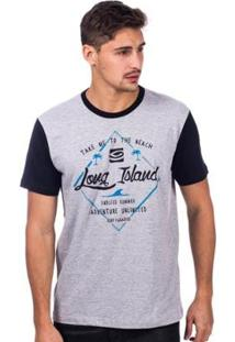 Camiseta Long Island Endless Masculina - Masculino
