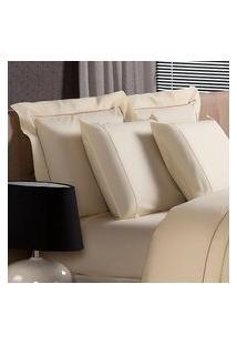 Fronha Avulsa 50X70Cm Plumasul Premium Palace 230 Fios Bege