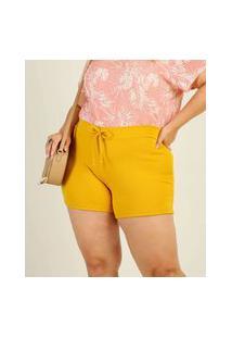 Short Plus Size Feminino Amarração