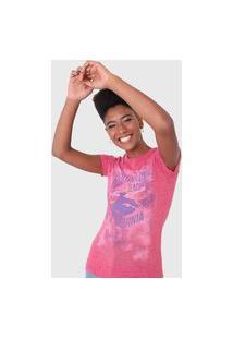Camiseta Aeropostale California Rosa