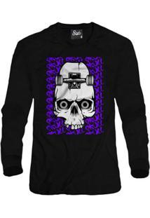 Casaco Moletom Skull Clothing Sk8 Masculino - Masculino