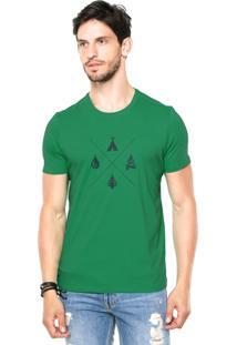 Camiseta Rgx Camping Verde