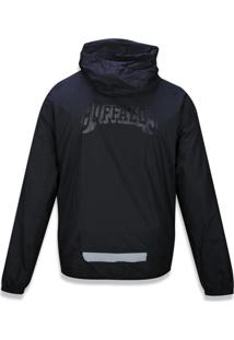 Jaqueta New Era Windbreak A La Garçonne Preto