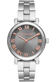 Relógio Michael Kors Norie Mk3559/1Cn Feminino - Feminino-Prata