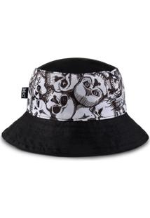 Chapéu Bucket Mxc – Skull Preto
