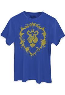 Camiseta Bandup - Geek Blizzard World Of Warcraft Aliança