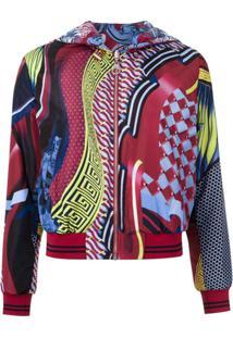 Versace Jaqueta Estampada - Estampado