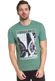 Camiseta Verde Hangar