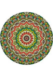 Tapete Love Decor Redondo Wevans Mandala Green 94Cm