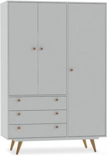 Armário 3 Portas E 3 Gavetas, Branco,Vintage 20 Ii