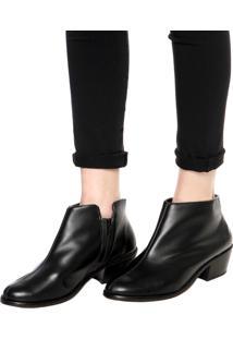 Bota Dafiti Shoes Fosco Preto