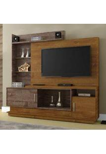 Estante Para Home Theater Adustina Chf Caramelo/ Chocolate