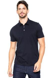 Camisa Polo Vr Logo Azul-Marinho