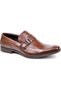 Sapato Social Ferracini Firenze - Masculino-Marrom Claro