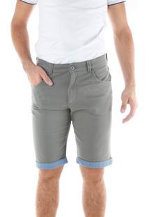 Bermuda 670 Sarja Cimento Traymon Modelagem Slim