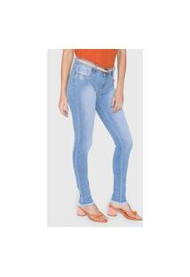 Calça Jeans Lança Perfume Skinny Low Azul