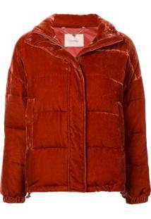 Twin-Set Jaqueta Com Textura - Vermelho