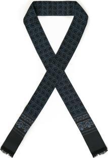 Dolce & Gabbana Lenço Gravata De Seda - Azul