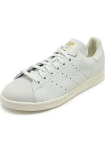 Tênis Couro Adidas Originals Stan Smith Premium Off White