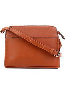 Bolsa Pagani Crossbody Mini Bag Feminina - Feminino-Caramelo