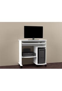 Mesa Para Computador Branco Móveis Dalla Costa