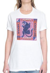 Fck Nzs Smash Fascim - Camiseta Basicona Unissex