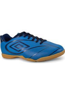 Tenis Masc Umbro Of72094 377 Indoor Fury Azul/Marinho