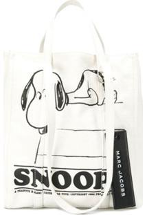 Marc Jacobs Bolsa Tote Snoopy - Branco