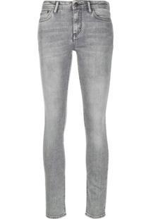 Acne Studios Climb Skinny Jeans - Cinza
