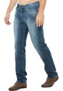Calça Jeans Osmoze Slim Fit Masculina - Masculino-Azul