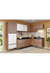 Cozinha Completa Mavi 16 Pt 4 Gv Nogueira E Branco